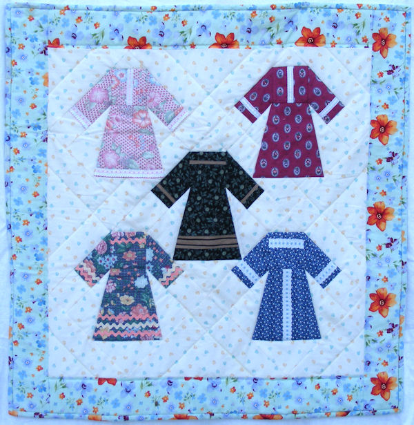 Quilting Classes : doll dress quilt - Adamdwight.com